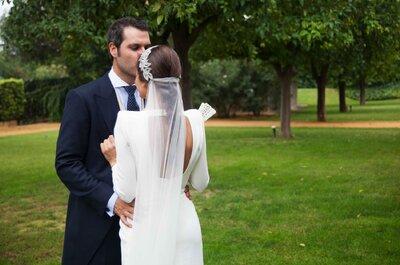Un poquito de norte y un poquito de sur: la divertida boda de Ángela y Bruno