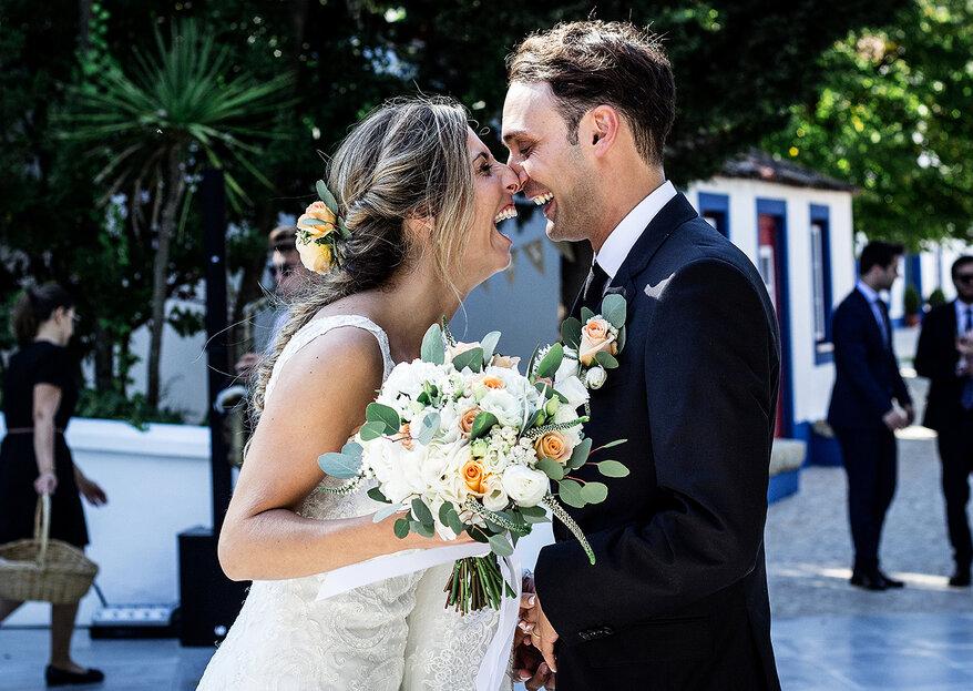 Inês e Isidro: um casamento Boho Chic bastante alegre e registado pelas câmaras da AhHA! Photos