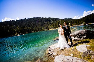 Flurina & Philipp heirateten in im traumhaften rockresort in Laax – Urlaubsfeeling bei der Hochzeit