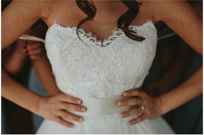 Real Wedding: La boda más romántica en Boynton Beach con la novia vestida de princesa