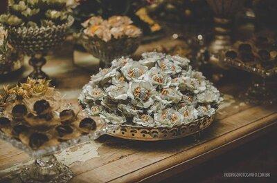Como escolher as forminhas dos doces para seu casamento!