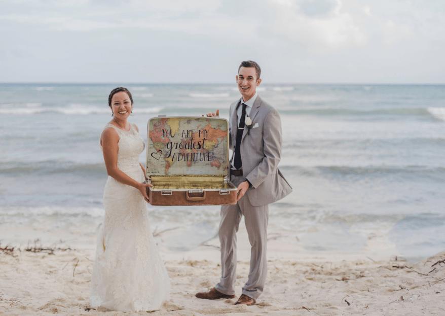 Un viaje al paraíso: la boda de Estrella y Joseph en Riviera Maya