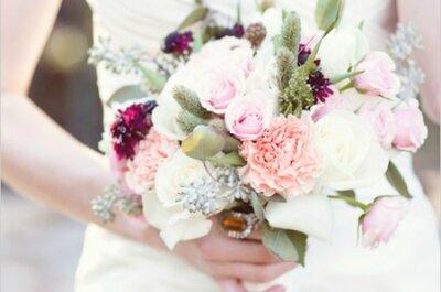 Ароматный букет для невесты 2015