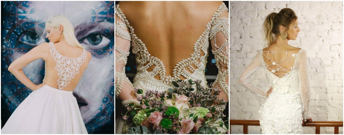 30 vestidos de noiva com costas impressionantes!