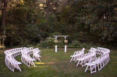 Creatieve ceremoniesetting op je bruiloft