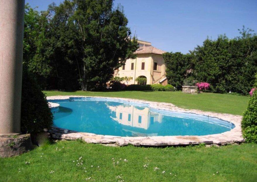Scegli una location di prestigio per il giorno più prezioso della tua vita: Villa Blumenstihl