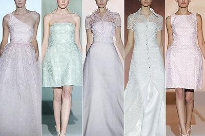 Vestidos de noiva Rosa Clará 2013: contamos-lhe tudo o que vimos na Barcelona Bridal Week