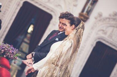 Indosserai anche tu un velo colorato? Lasciati ispirare dai look di queste spose