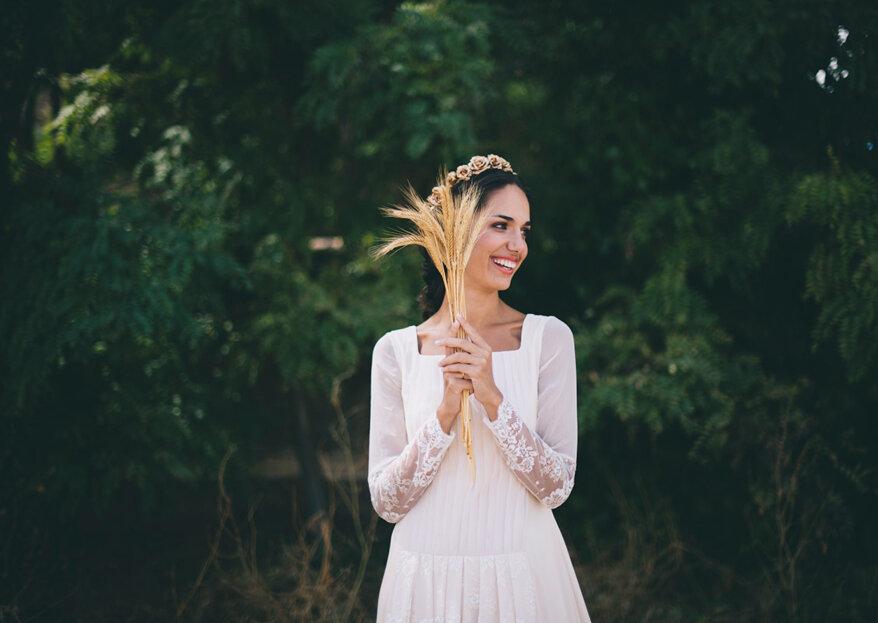 Seis tipos de manga larga para tu vestido de novia: ¡lo mejor de la moda para los meses fríos!