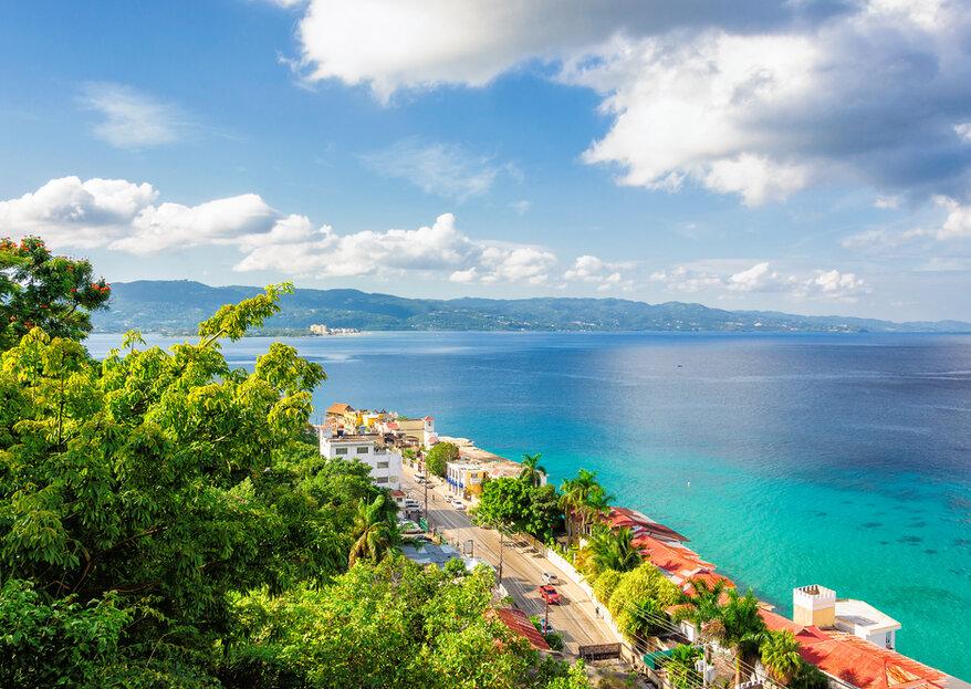Jamaica, Bahamas e Islas Turcas y Caicos: destinos 'top' para una destination wedding