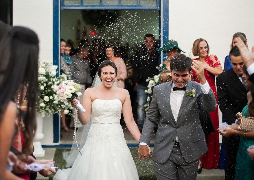 Os 11 cúmplices que te ajudarão a realizar o casamento dos sonhos em 2019!