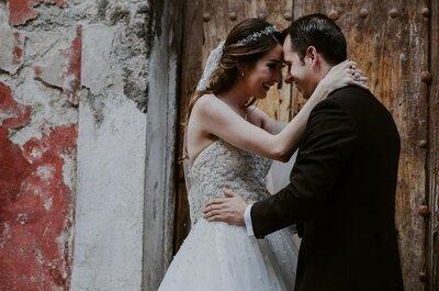 Quiero vivir de tu magia: La boda de Cecilia y Alberto