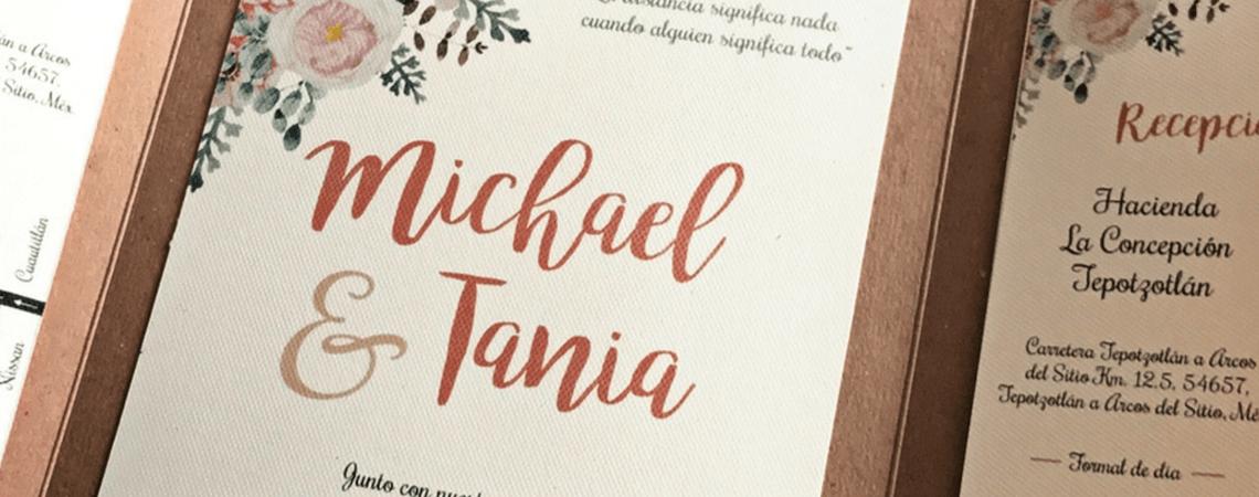 Put it on paper: Las invitaciones de tu boda, el testimonio del inicio de una vida