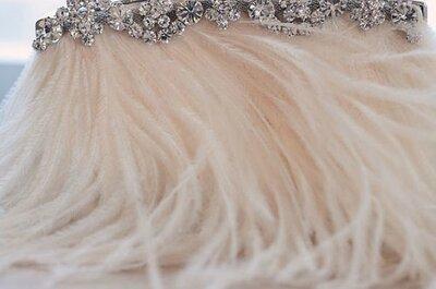 Les plumes s'invitent dans votre décoration de mariage
