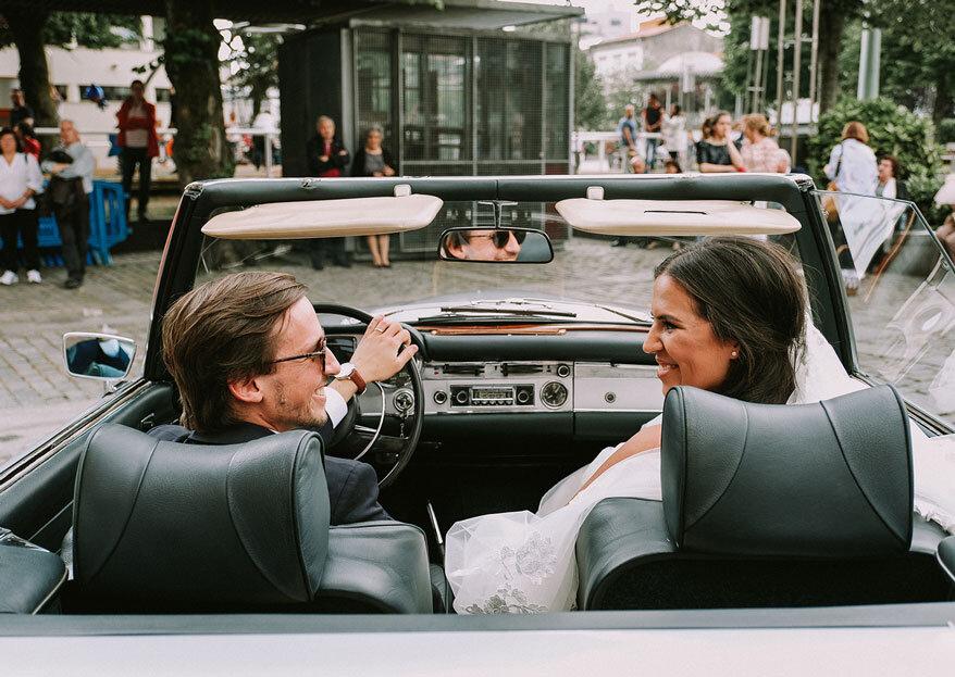 Estúdios Santa Cruz: os noivos tal como são em imagens naturais e autênticas