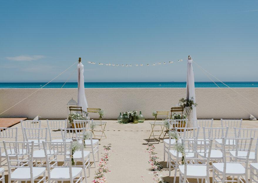 Tu boda frente al mar en Celebraciones Entremares