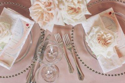 Как правильно составить меню для свадебного ужина?