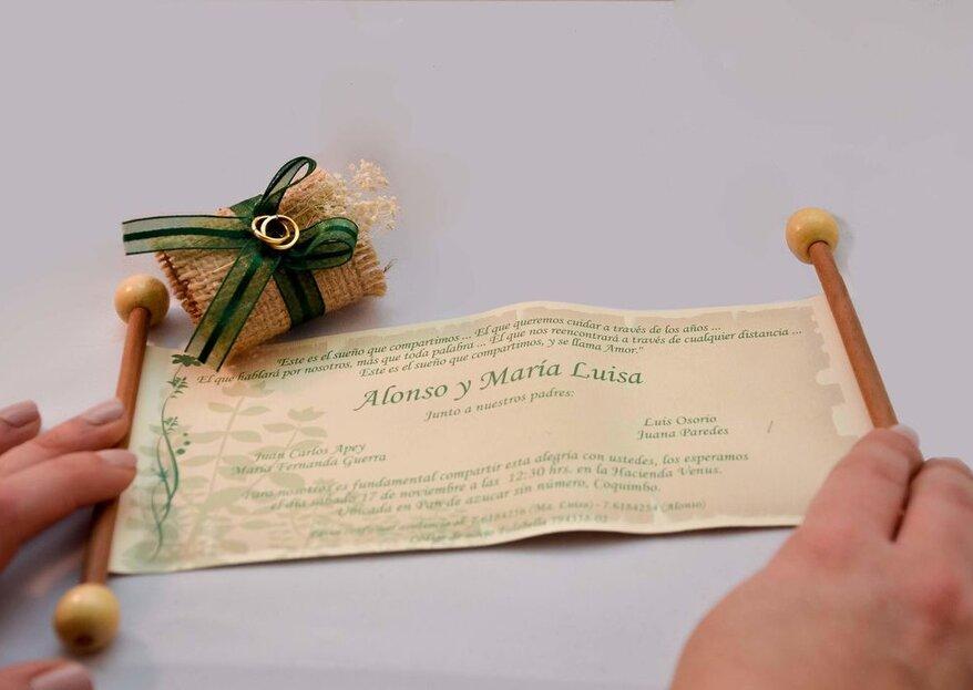 Elige tus invitaciones de matrimonio siguiendo nuestros consejos y teniendo en cuenta a los expertos