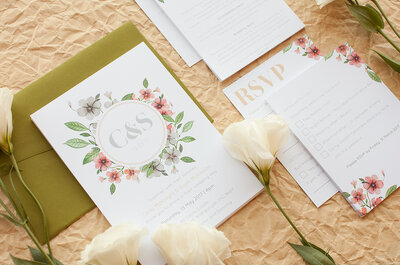 Invitations to Wow Your Guests: Top 3 Australian Wedding Stationery Suppliers
