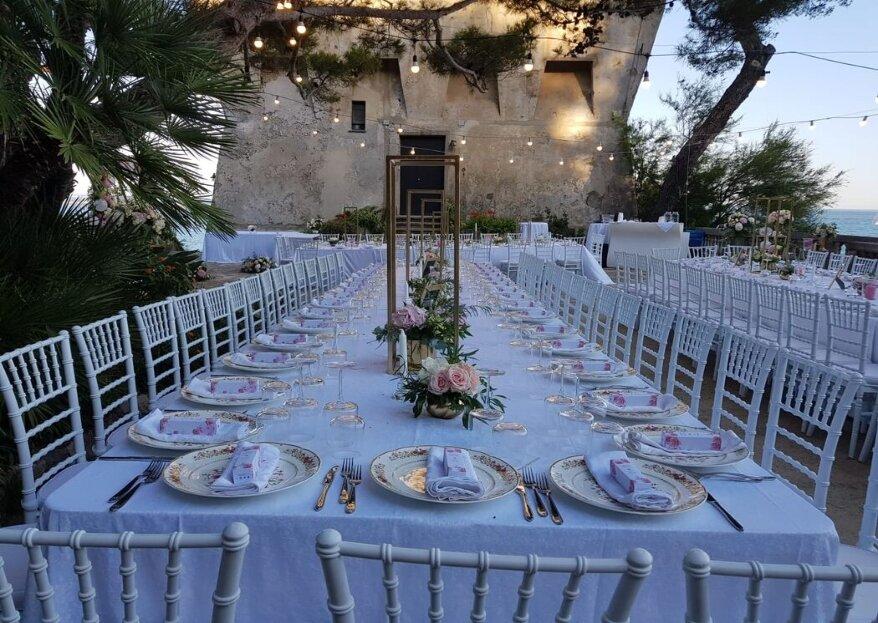 Katering On City mette in tavola eleganza, creatività e stile per le nozze dei vostri sogni...