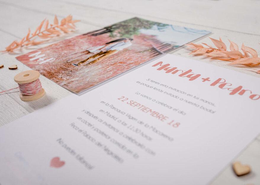 Always Yours: el arte de la papelería para las bodas más personalizadas