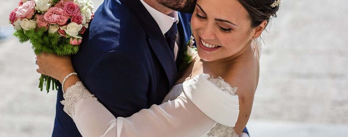 Un gran día que desprendió puro sentimiento: la boda de Alexandra y Marco
