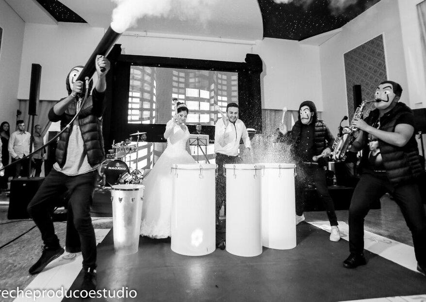 Os embalos do casamento perfeito: descubra aqui dicas para escolher as atrações musicais do seu grande dia