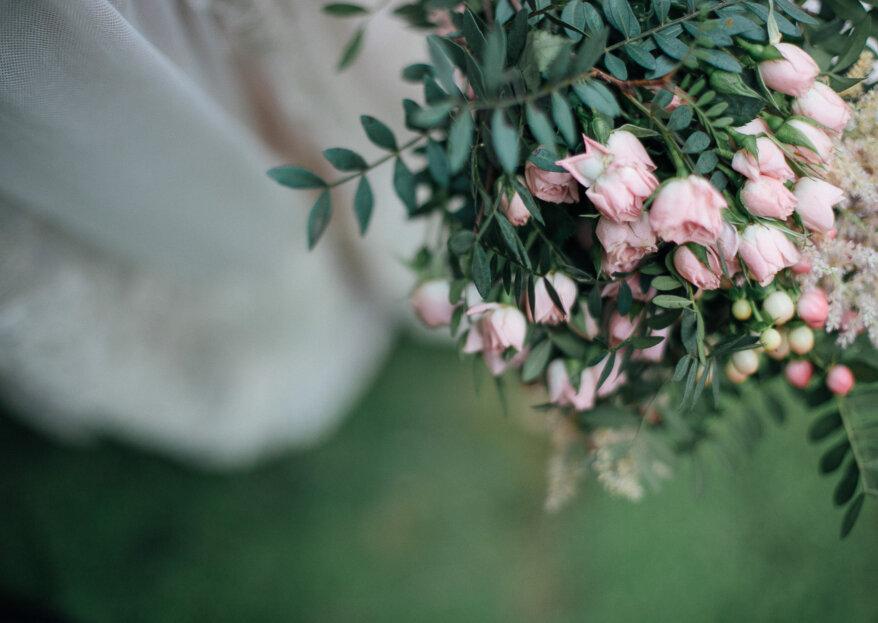 'Hoop bouquets' para novias: el ramo más original de la temporada