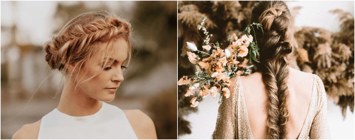Mais de 50 penteados de noiva com trança maravilhosos: super tendência!
