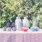 Decoración de mesas con mantelería y textiles.