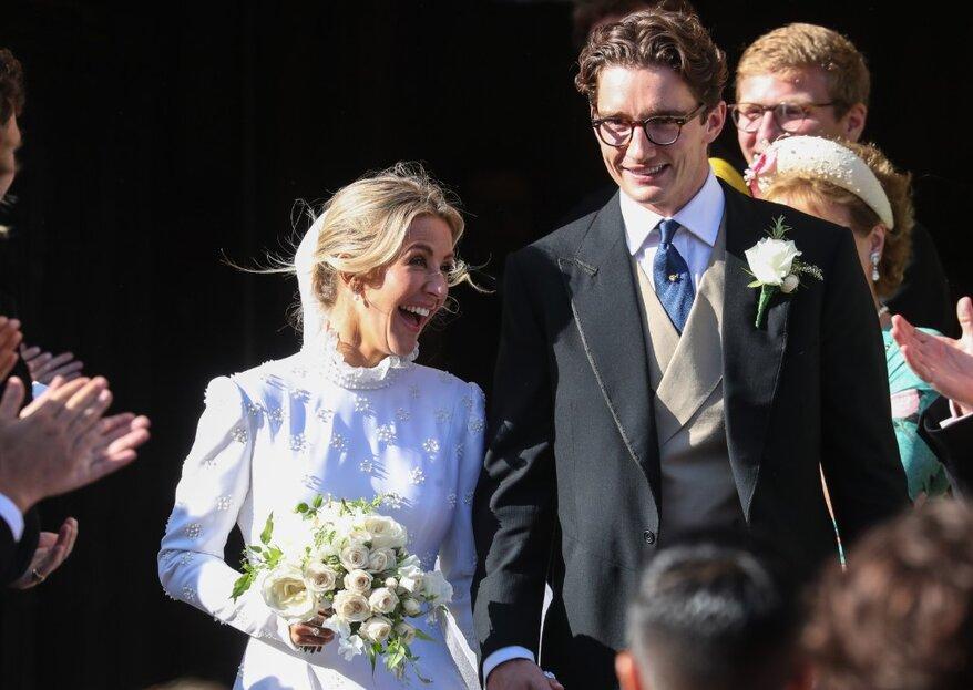 Todo sobre la boda de la cantante Ellie Goulding y el vestido de novia que nadie esperaba