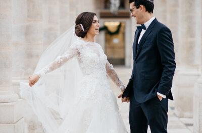 Le beau mariage franco-canadien de Benjamin et Sarah