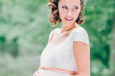 Schwanger heiraten: So überstehen Sie den Hochzeitstag ohne große Anstrengung!