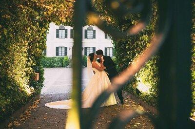 Un amor de facultad: la boda de Bárbara y Alberto