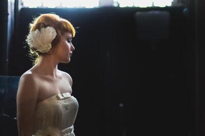 Fotos inspiradoras e intensas de uma noiva exótica e estilosa