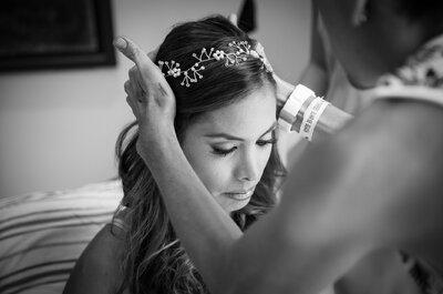 Accesorios para novias: No pierdas la cabeza con tu arreglo y ¡luce magnifica!