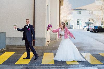 Die 3 goldenen Regeln für ein unvergessliches Brautpaar-Shooting – Ja, Farbe gehört dazu!