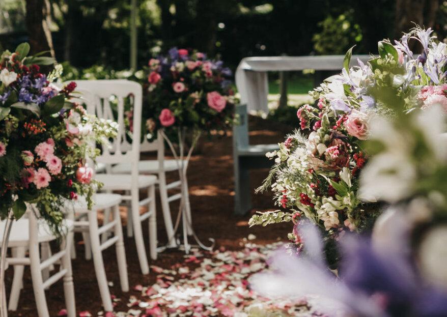 Quinta Pavo Real: su jardín particular para una boda rodeada de vegetación