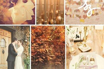 O outono chegou: veja as melhores ideias para seu casamento na estação mais charmosa do ano