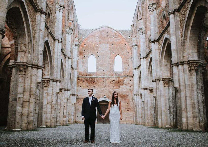 Above & Beyond Tuscan Weddings: un matrimonio civile all'aperto in Toscana, tra natura e vigneti
