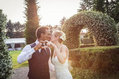 Volteggi d'amore: il matrimonio di Francesca e Oneil