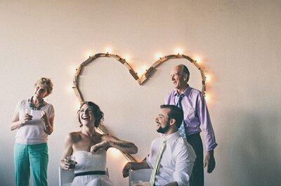 Décoration de mariage avec des coeurs