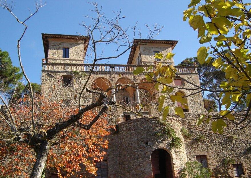 L'ambientazione prestigiosa in umbria per le vostre nozze da sogno: Villa Monticelli