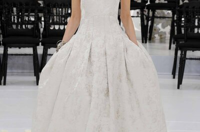 Riqueza histórica desde la colección de Christian Dior Haute Couture 2014-15