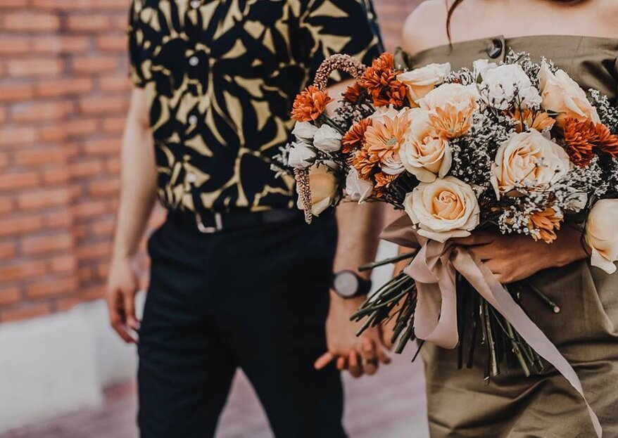 5 ramos para novias bohemias que ¡te van a enamorar!