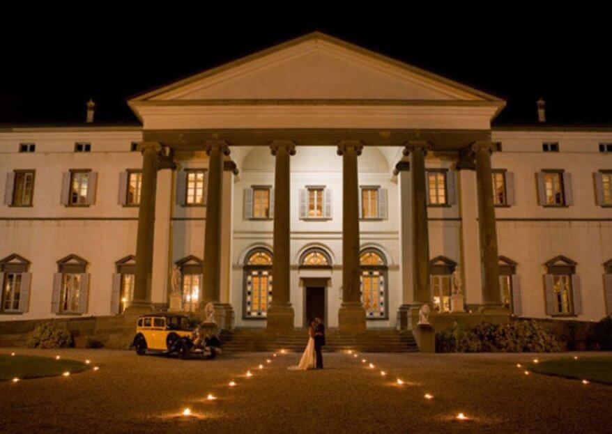 Le 5 locations più gettonate dove sposarsi