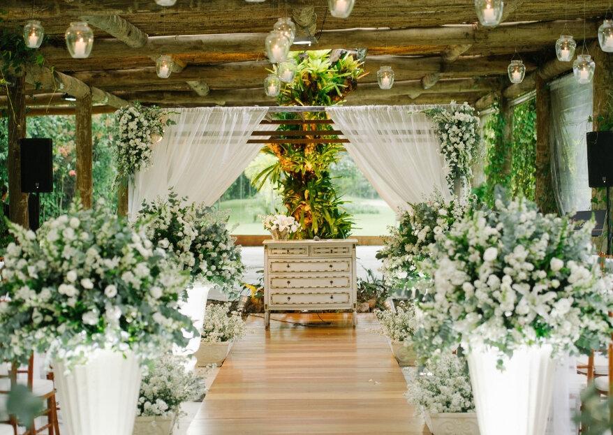 Entre o rústico e o contemporâneo: dois espaços incríveis para celebrar o seu casamento.