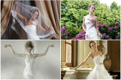 Dalla fatata directory di Zankyou, 4 abiti perfetti per la sposa in estate!