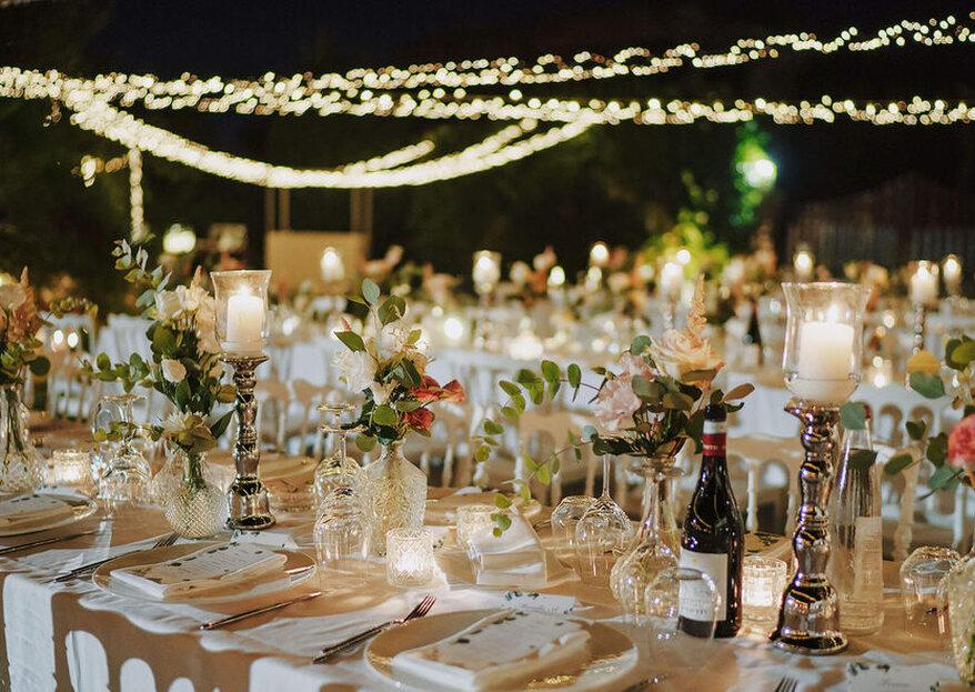 Le migliori stagioni dell'anno nelle quali celebrare le nozze all'aperto...parola alle wedding planner!