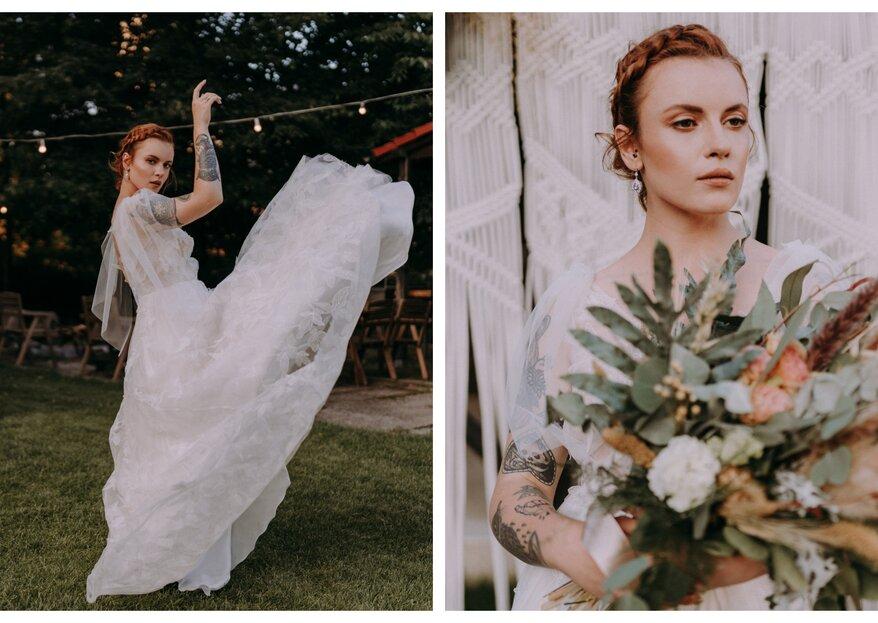 Sesja ślubna w klimacie boho - zakochaj się w stylu Slow Wedding